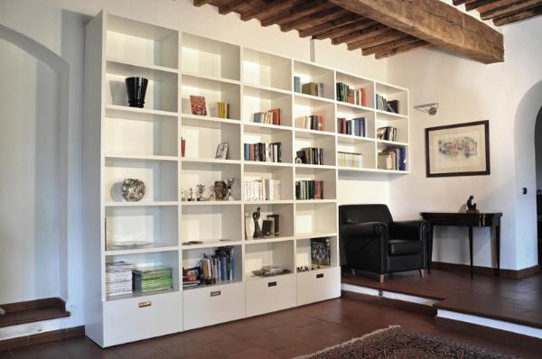 Arte del Legno Landi, Libreria Ponte, LIBRERIE , REALIZZAZIONI