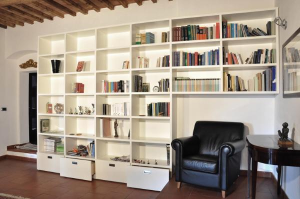 Arte del legno landi libreria ponte librerie realizzazioni - Librerie a ponte ikea ...